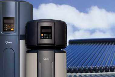 Hot water tanks and solar hot water collector