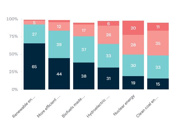 Alternative energy options - Lowy Institute Poll 2020