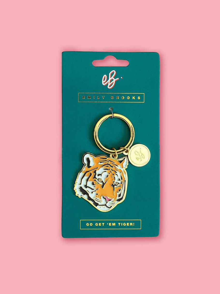 tiger-keyring