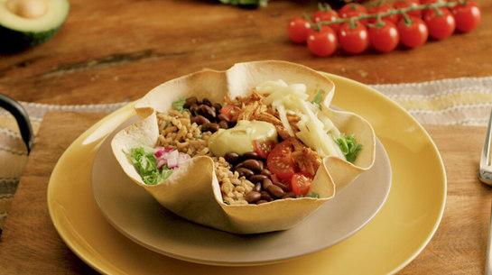 Terrific Chicken Taco Bowl
