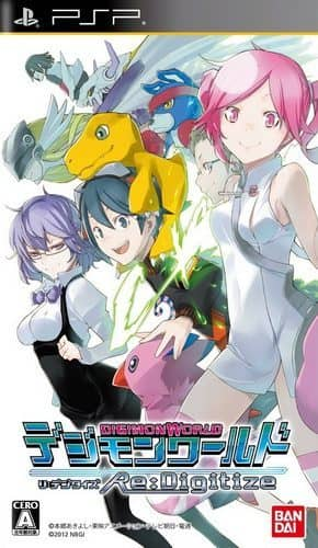 Coverart image of Digimon World Re:Digitize psp
