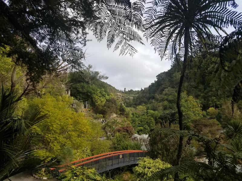 The gardens reclaiming the quarry
