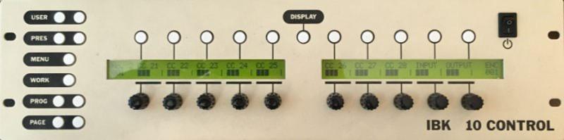 Controleur MIDI