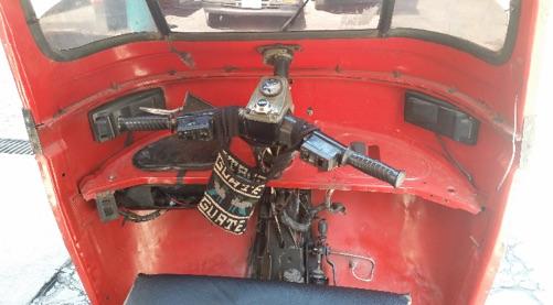 Cockpit eines Tuktuk