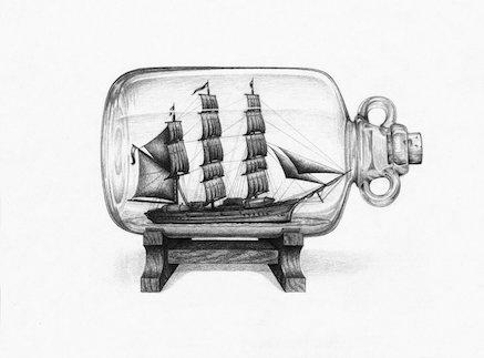 ships in a bottle