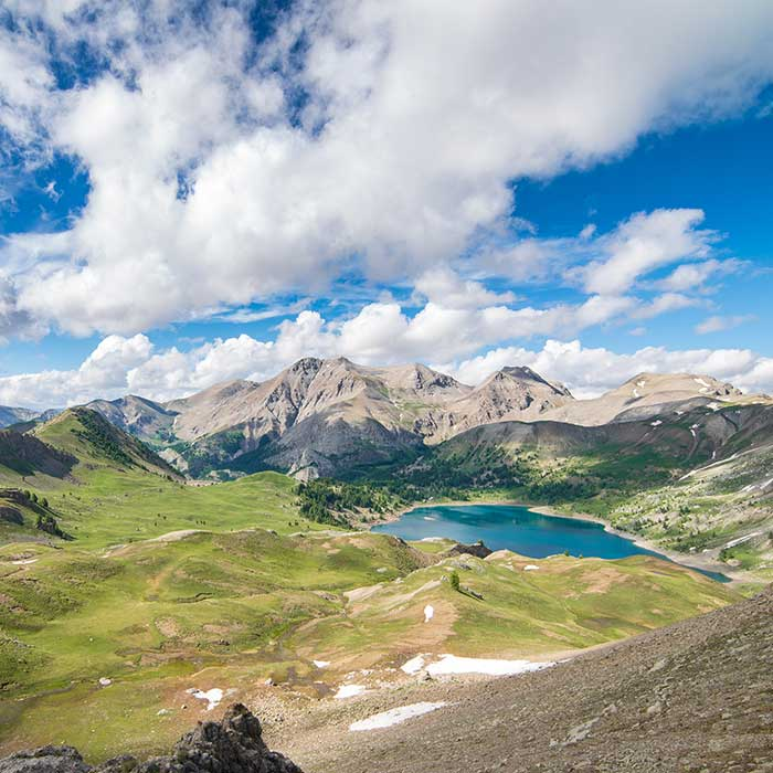Lac d'Allos, Mercantour National Park, France