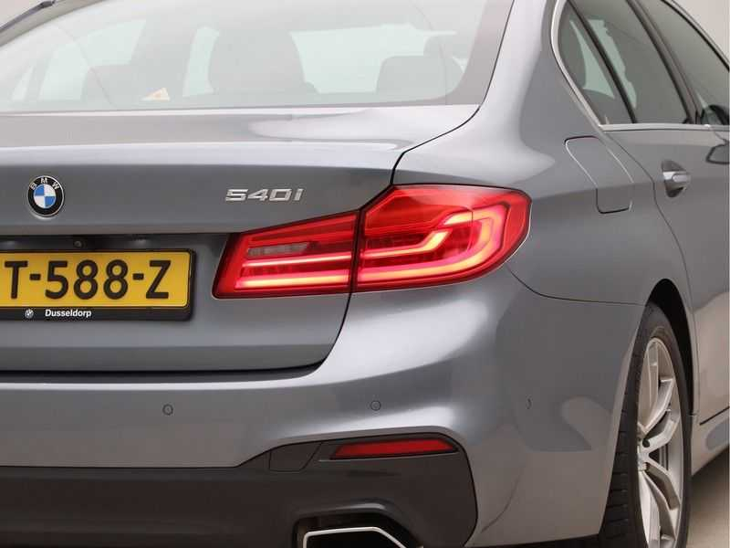 BMW 5 Serie 540i High Exe M-Sport Aut. afbeelding 20