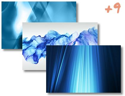 AbstractBlue theme pack
