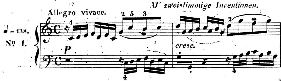 Bach Invention