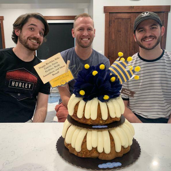 Birthdays are celebrated because... ya know... Cake!