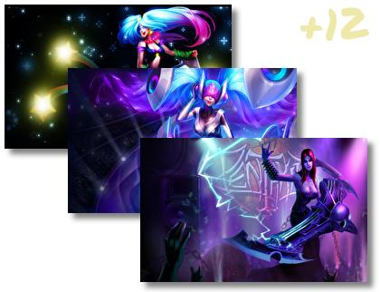 Sona Lol theme pack