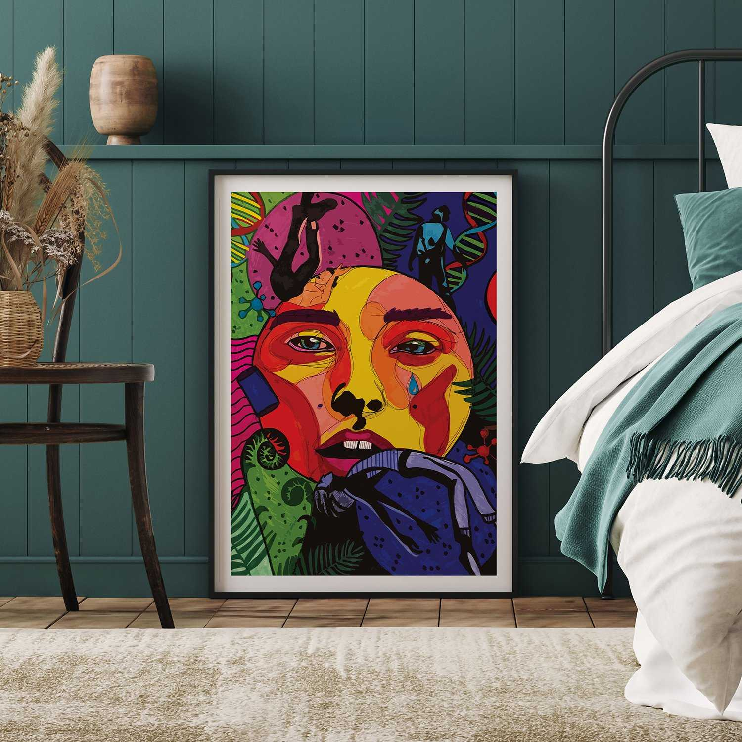 'DNA' Giclée Art Print