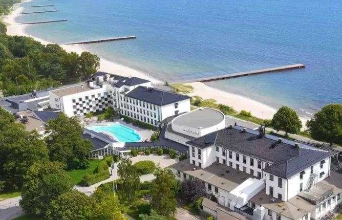 populaert sydsvensk luksus hotel