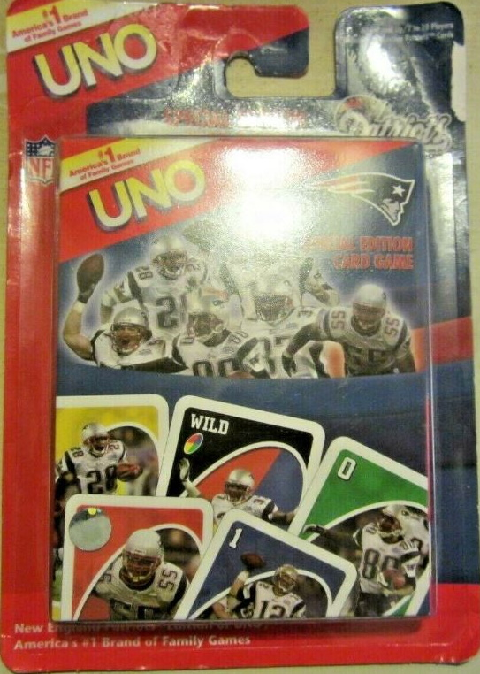 New England Patriots Uno (2005)