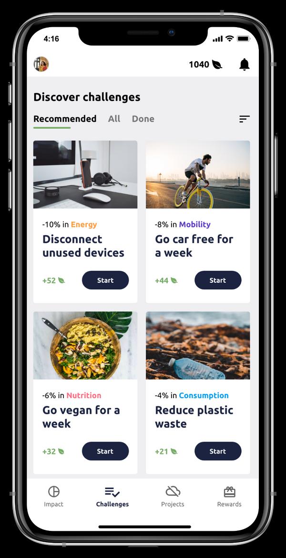 plan3t app screenshot