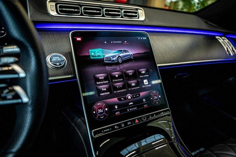 Mercedes-Benz S-Klasse 400d 4Matic Lang AMG | 3D Display | Augmented Head-Up Display | Burmester 3D | Pano | Memory afbeelding 19