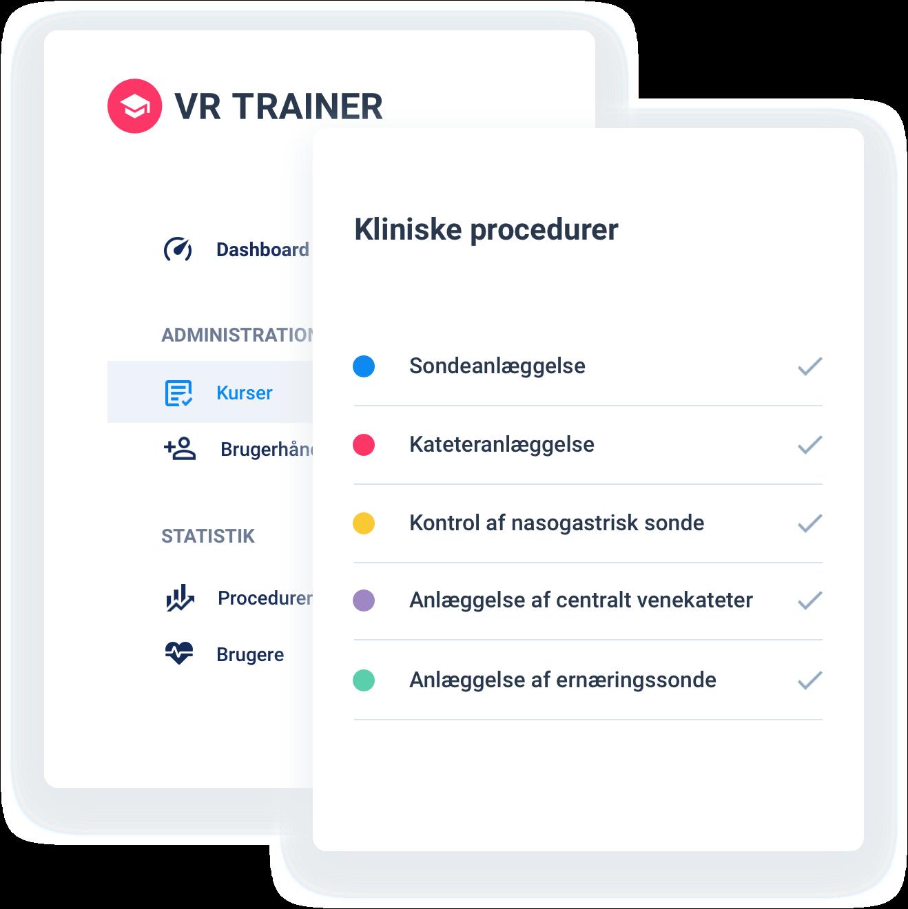 Kliniske procedurer - VR TRAINER
