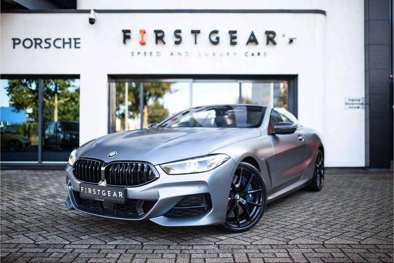 BMW 8 Serie 840d xDrive High Executive *Laser / Harman-Kardon / HUD / Nachtzicht / Carbon / ACC / Nekverwarming* afbeelding 1