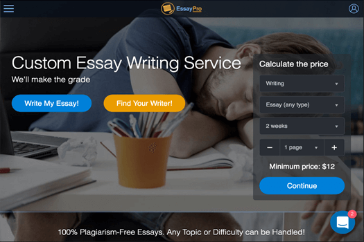 top essay writing service reviews by anonymous students  essaypro com review