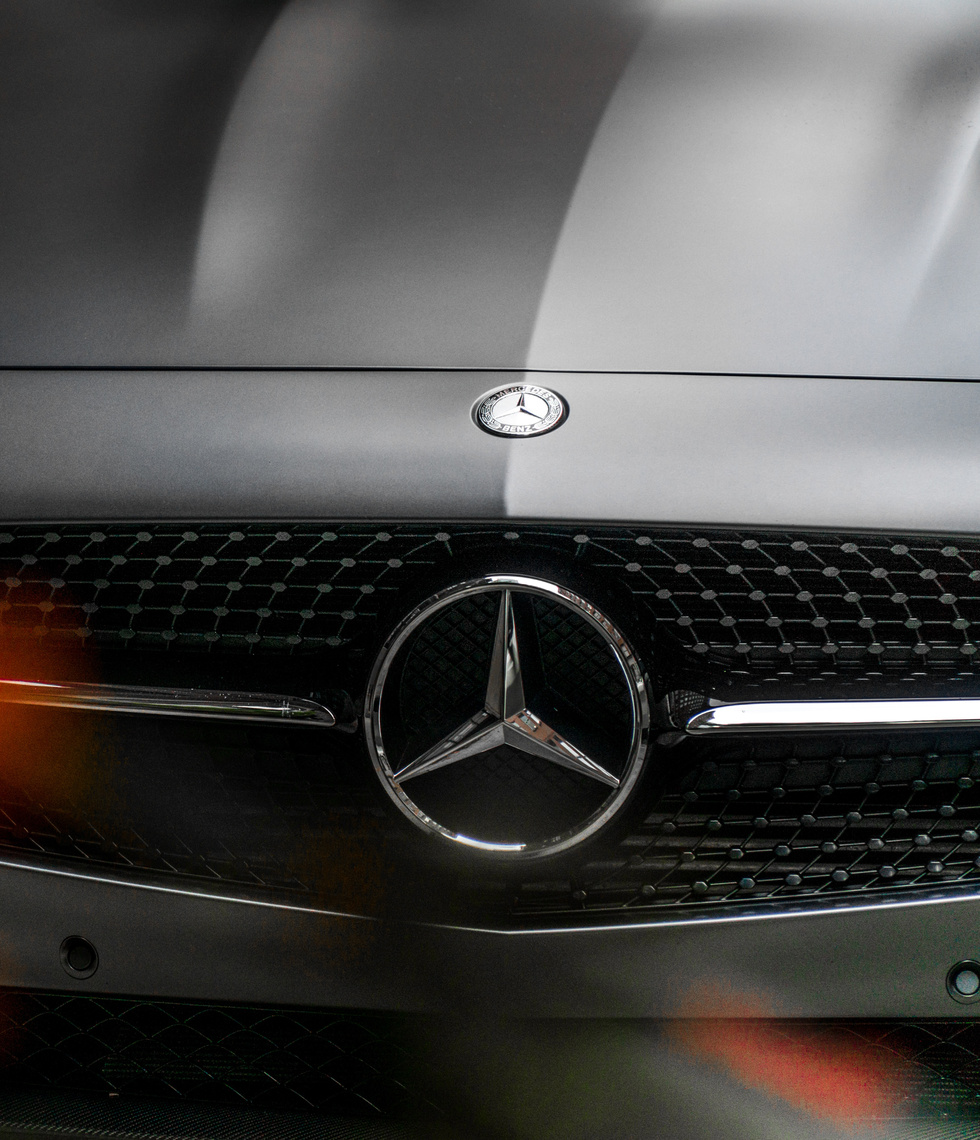 Chauffeur Me executive Mercedes interior.