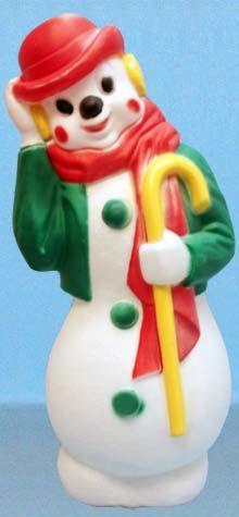 Derby Hat Snowman photo