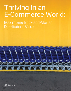 Thriving in an E-Commerce World: Maximizing Brick-and-Mortar Distributor's Value Cover