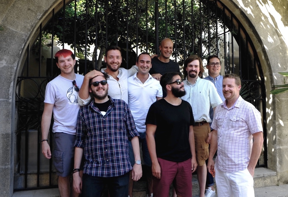 The DNSimple team in Avignon