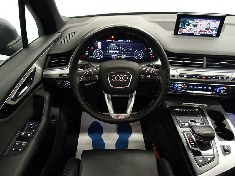 Audi Q7 3.0 TDI e-tron 374pk Quattro S-Line - Pano, Virtual Cockpit, Camera, Leer, Full! afbeelding 5