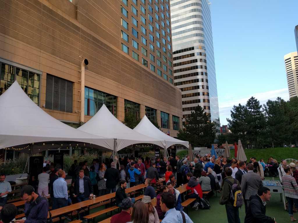 Denver Startup Week 2016 Beer Garden