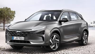Advertiser picture of Hyundai Nexo hydrogen fuel-cell car