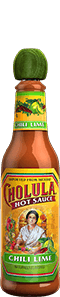 Cholula Chili Lime Bottle