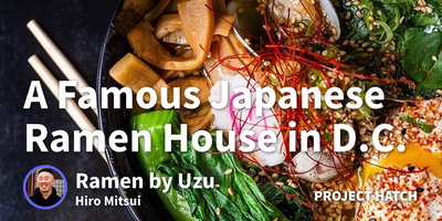 featured image thumbnail for post How I Worked My Way to Running DC's Top Spot for Japanese Comfort Food