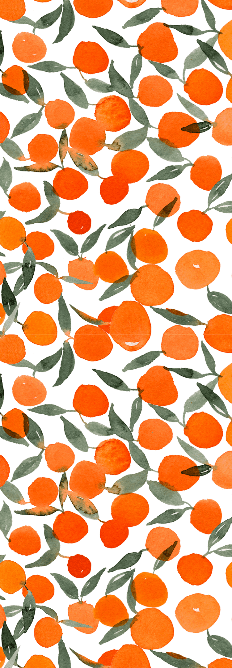 Orange Crush on Spoonflower by One and Only Paper