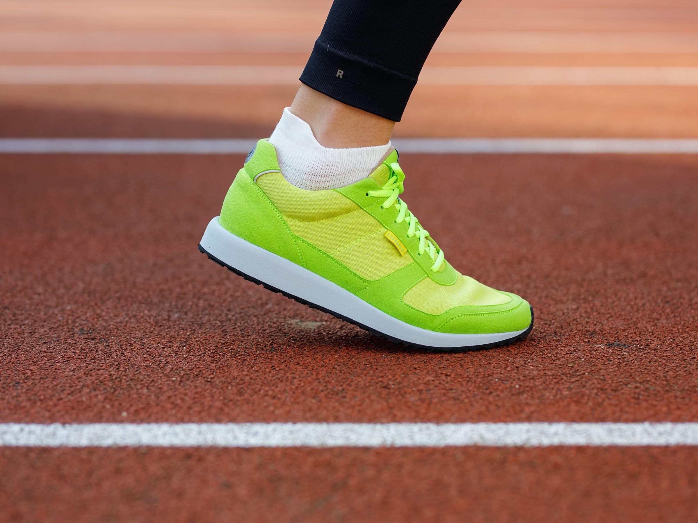 Classic Run in Yellow/Lawn Green/Light Gray