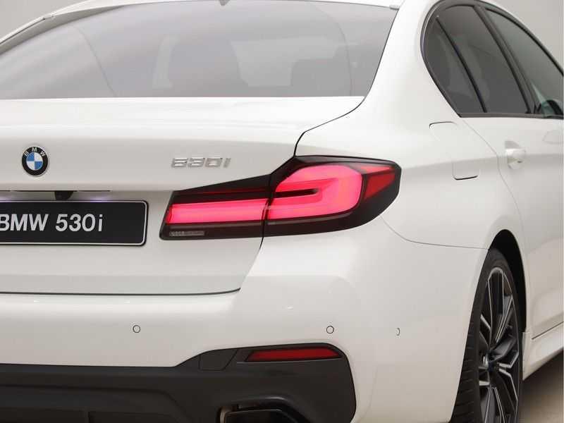 BMW 5 Serie 530i High Exe M-Sport LCI afbeelding 20