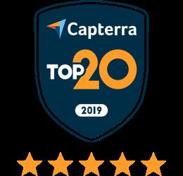 Capterra top20 stars
