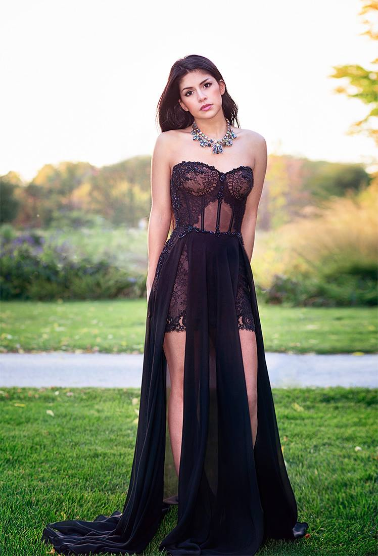 evening dress designer lilia haute couture montreal