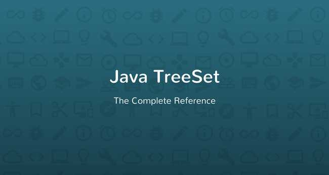 Java TreeSet Tutorial with Examples