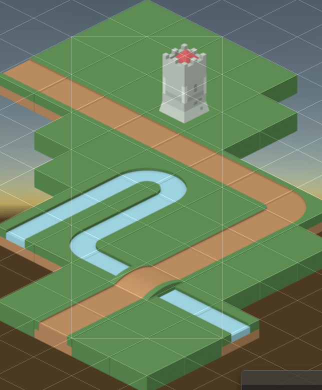 Tile Palette Results Unity Editor View