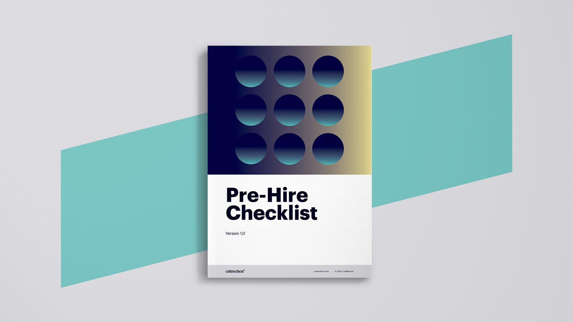 Checklist of questions to ask before you hire an agency (cover)