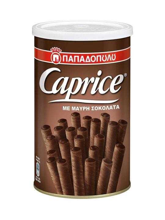 Dunkle Schokolade Waffelrollen Caprice - 250g