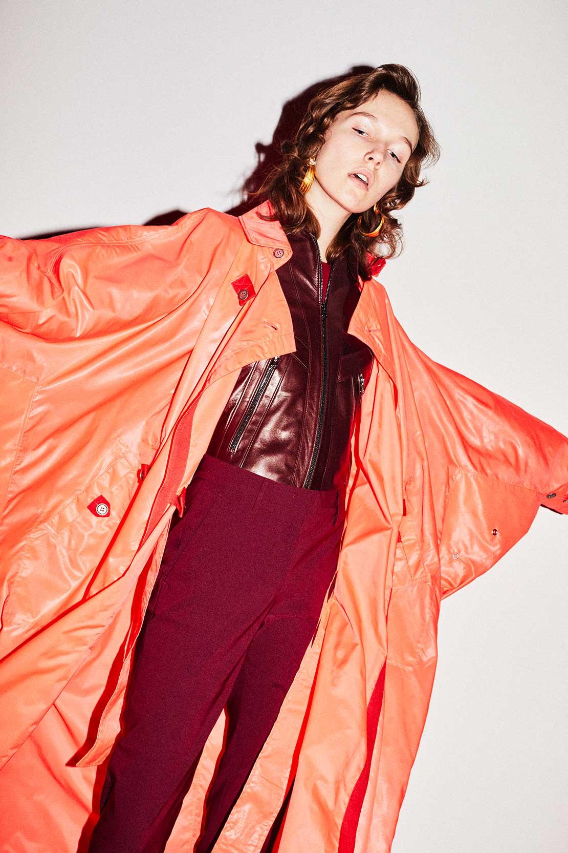 TRE by NATALIE RATABESI - coat De Usha leater jacket De Joachin