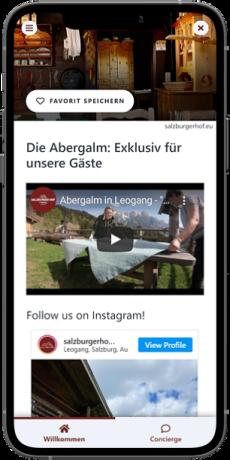 Youtube und Instagram-Inhalte einbinden