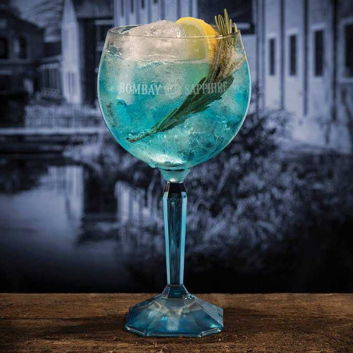 Rosemary Blue Cocktail