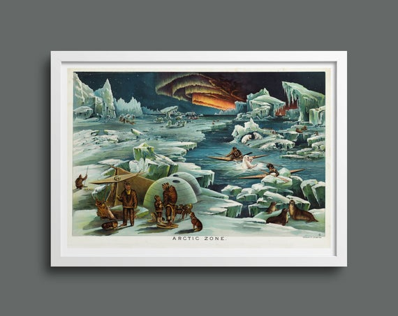 Arctic Zone illustrated by Levi Walter Yaggy