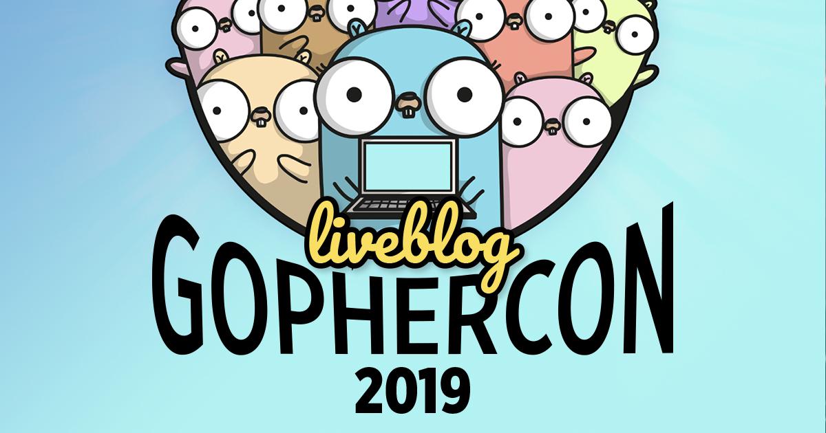 GopherCon 2019 Banner