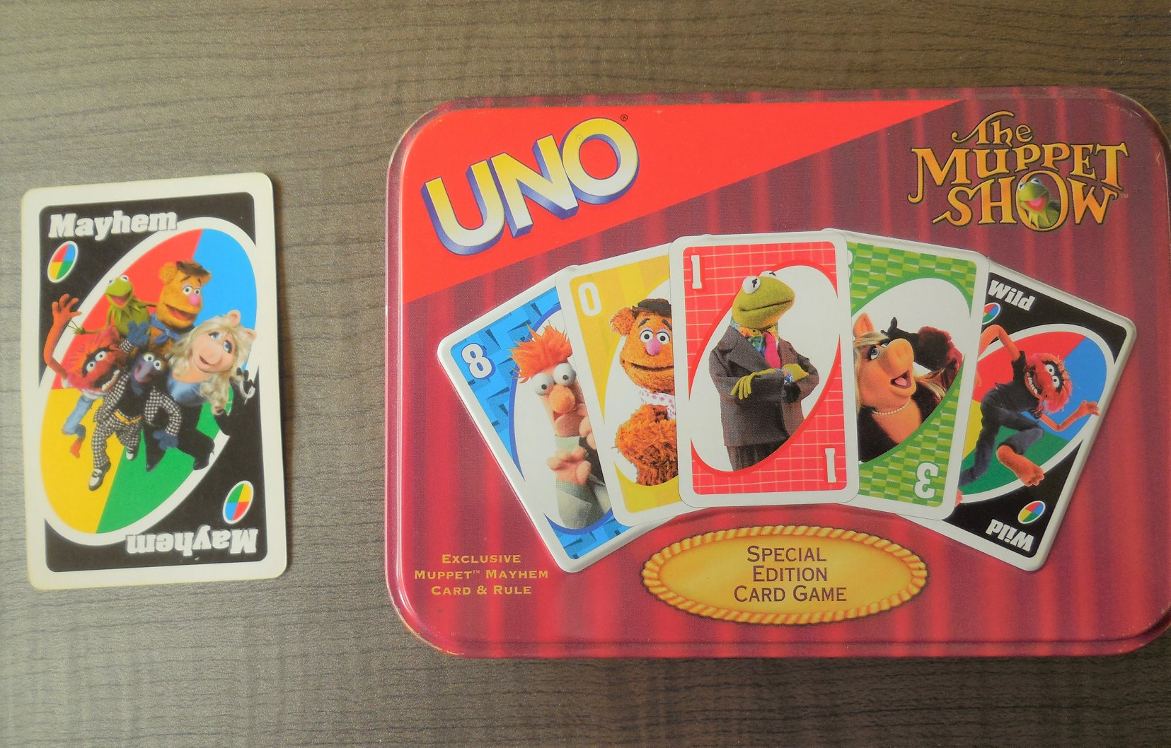 The Muppet Show Uno Card Game
