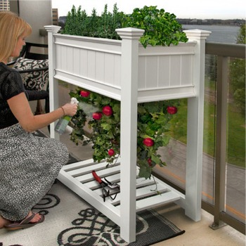 Vinyl Planter Boxes & Garden Beds