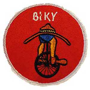 Biky spejdermærke