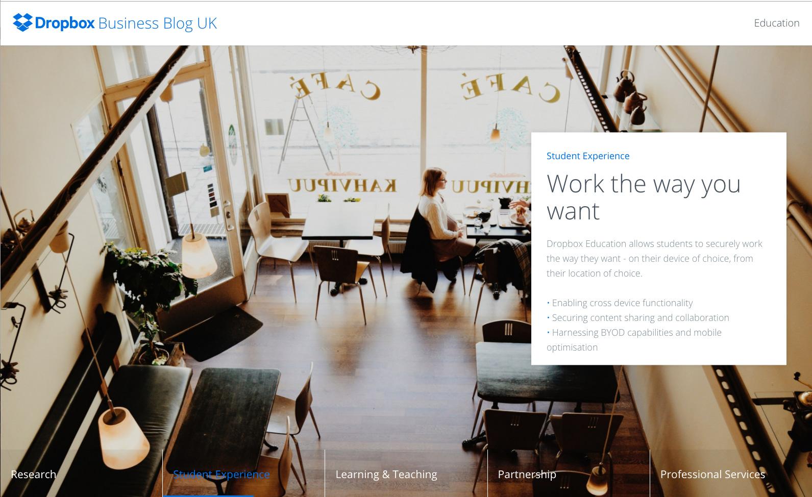 Dropbox Business Blog